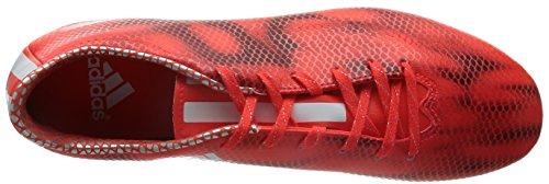 adidas F10 Firm Ground, Scarpe da Calcio da Uomo Red ( Solar Red / White FTWR / Core Black )