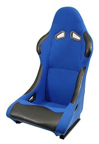 Carparts-Online 11151 Schalensitz Sportsitz Stoff blau neu