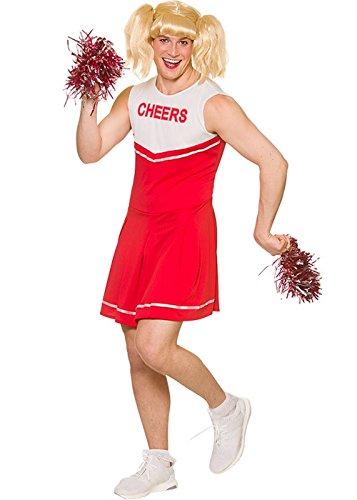 uheit Red Hot Cheerleader Kostüm X-Large - 48