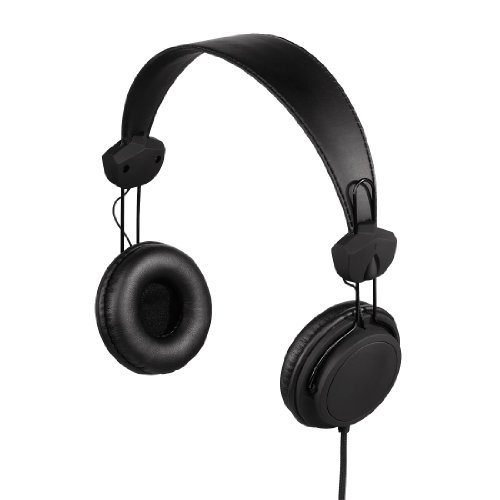 Hama Joy On-Ear-Stereo-Kopfhörer (102dB, 3,5mm Klinkenstecker, 1,5m) schwarz