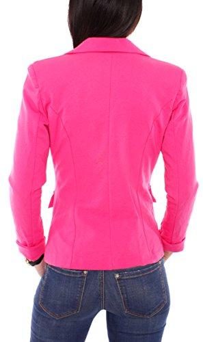 Easy Young Fashion - Giacca da abito -  donna Pink