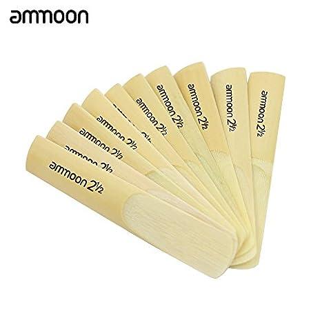 ammoon 1002,52–1/2Für Bb Tenor Saxophon Saxophon Bambus Blätter Zubehör Teil