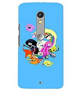 MOTOROLA MOTO X PLAY CARTOONS Back Cover by PRINTSWAG