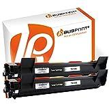 Bubprint 2 Toner kompatibel für Brother TN 1050 TN1050 für DCP-1510 DCP 1510 1512 1610W 1612W HL-1110 HL 1110 1112 1210W 1212W MFC 1810 1910W Schwarz