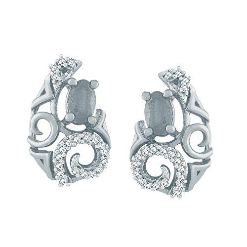 Giantti Diamant Pendentif Femme Collier (0,16CT, qualité HSI, Gh-colour)