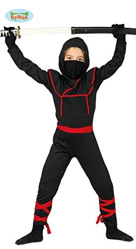 Guirca costume shinobi ninja guerriero giapponese carnevale bambino 8188_ 7-9 anni
