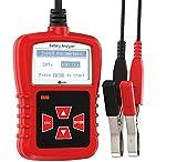 12v 24v battery voltage temperature meter monitor tester gauge indicator JZK/® 2 in 1 car truck bus voltmeter /& thermometer display