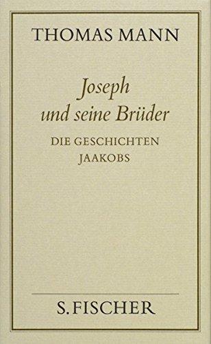 Gesammelte Werke in Einzelbänden. Frankfurter Ausgabe.: Joseph und seine Brüder I (Thomas Mann, Gesammelte Werke in Einzelbänden. Frankfurter Ausgabe)