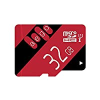 AEGO 32gb MicroSDXC UHS-1 Class 10 Memory Card for Fire Tablets Dash Cam, with Free Adapter (AEGO-U1-32gb)
