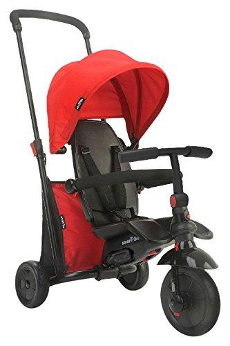 smarTrike 6-in-1 Folding Trike 400 Series, Red Triciclo Plegable (6 en 1), Color Rojo, Rosso, 97L x 48W x 100H cm (8473)