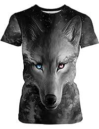 Animales Amazon De Ropa es Mujer Camiseta L qtwSq