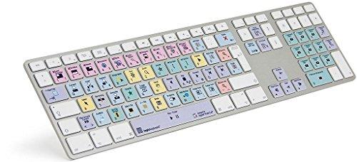 LogicKeyboard LKB-FCPX10-AM89-DE Apple Final Cut Pro X Advanced Tastatur (Tastatur Cut Final)