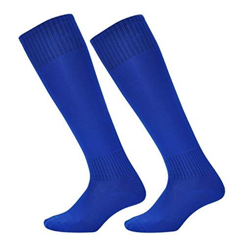 Nowear Kinder Junge Lange Socken saugen Schweiß über Knie Baumwolle Polyester Thin Fußballsocken Freie Größe -