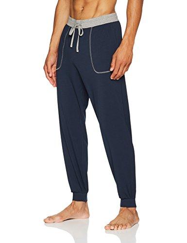 BOSS Herren Schlafanzughose Balance Pants, Blau (Dark Blue 403), X-Large (Fleece Herren Schlaf-hose)