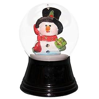 Alexander Taron Importer Perzy Snowglobe, Small Snowman with Scarf-2.5