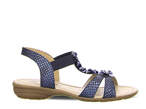 Ara 1232725-14, Sandali Donna Blu Blau Blau