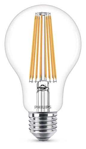 Philips Lighting 8718696742396 Philips Lampadina LED Classic Goccia, Attacco E27, 11 W Equivalenti a 100 W, 2700 K