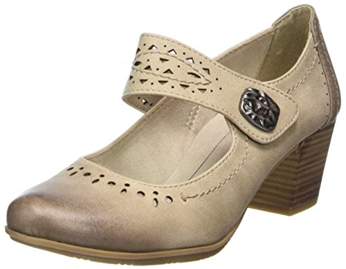Softline Damen 24366 Pumps, Beige (Dune), 41 EU