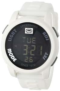 Marc Ecko - E07503G2 - The 20 - 20 - Montre Homme - Quartz Digital - Cadran Blanc - Bracelet Silicone Blanc