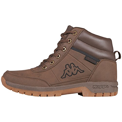 Kappa Bright Mid Light, Botines Unisex Adulto, Marrón (5050 Brown), 43 EU