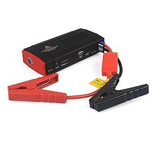 AFTERPARTZ Auto Starthilfe 20000mAh 1000A für Allen 12V Motors, Notstart, 12V-16V Spannungsausgang, Tragbare Powerbank, Startkabel mit Schutzsystem, DO-06