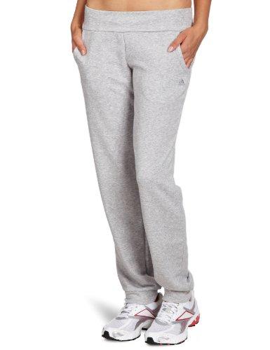 adidas Damen Hose Essentials Cuffed, Medium Grey Heather, L, X21683 (Damen-frottee-trainingsanzug)