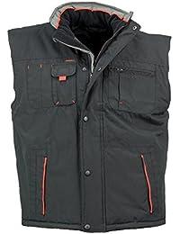 Arbeitsjacke Winterjacke Jacke Herren gefüttert Schutzjacke Y-263-RED