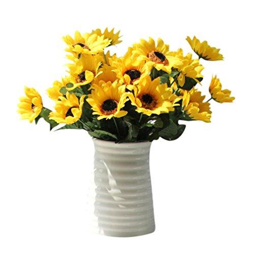 Coloré(TM) Feuille artificielle Flower laisser la simulation laisse le mariage décor à la maison. Décor Floral le Bouquet de Fleurs Fête de Mariage