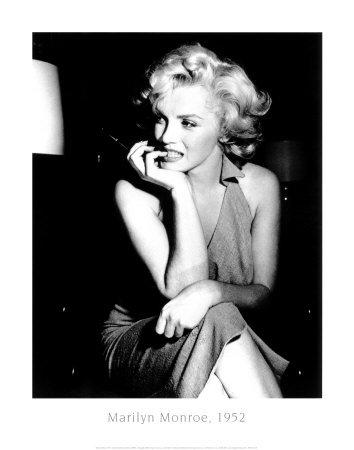 Marilyn Monroe, 1952 Kunstdruck