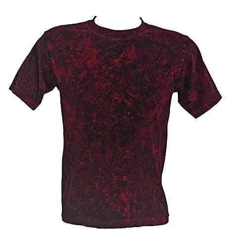 Tie Dye Red Acid Wash T-Shirt XL