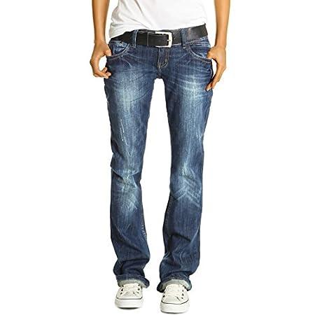 Bestyledberlin Damen Jeans Hüftjeans