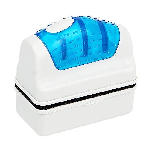 Limpiador de algas de vidrio para acuario, cepillo magnético flotante, herramienta práctica para limpiar...