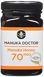 Manuka Doctor 70 MGO Manuka Honey, 500 g (B07D2Q8SDP)   Amazon price tracker / tracking, Amazon price history charts, Amazon price watches, Amazon price drop alerts