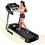 PowerMax Fitness TDM-150 2.5HP (5HP Peak) Motorized Treadmill with Free Installation Assistance, Home Use & Automatic Programs