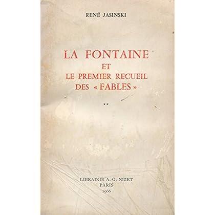 La Fontaine et le premier recueil des 'Fables'.