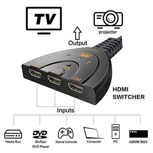 38% OFF on LinkS 4 port HDMI Audio switcher on Amazon