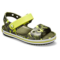Crocs Unisex Kids' Crocband Seasonalgraphic Sdl K Open Toe Sandals