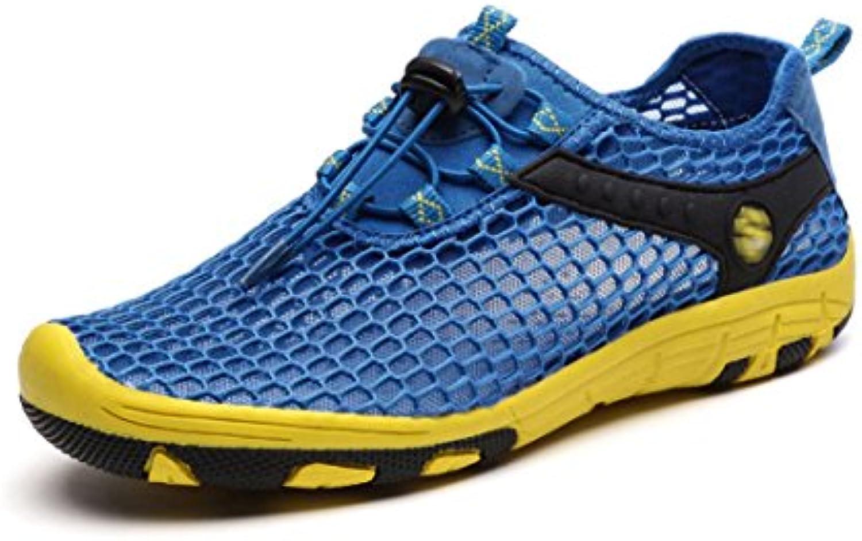 Womens Flat Flip Flops Sommer Casual Low-Ferse Clip Toe Verstellbare Schnalle Sandalen
