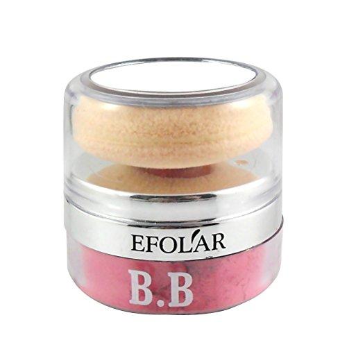 Frcolor Fard à Joues Blush Poudre Blush Cosmétique avec Coussin Puff Round Round Powder (No.3 Couleur)