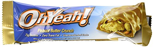 ISS Research Oh Yeah Riegel,Peanut Butter Crunch, 12x 85g