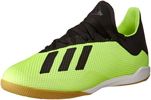 adidas X Tango 18.3 in, Scarpe da Calcetto Indoor Uomo, Giallo (Amasol/Negbás/Ftwbla 001), 39 1/3 EU