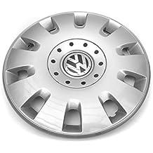 Tapacubo Volkswagen, color plata, tapacubo 16 pulgadas