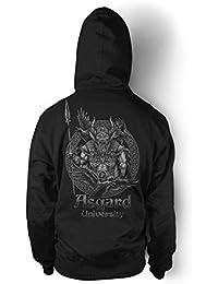 Asgard University M2 Premium T-Shirt Viking Odin,Germanen,Mjölnir,Wikinger