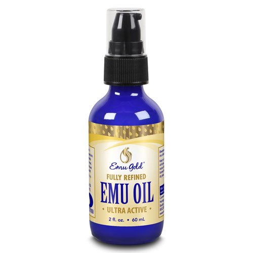 Emu Oil, 100% All Natural, Extra Strength, 2 fl oz - Emu Gold