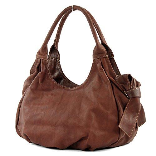 modamoda-de-Womens-Shoulder-Bag-Brown-Kastanie