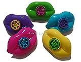 12 x Mini Sorridenti Molle - Accessori Per Buste Regalo - Vari, Labbra Fischietto per Sacchetti Sorpresine