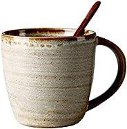 أكواب المشروبات اليابانية السيراميك القدح شخصية مكتب كأس المياه المنزلية كوب كبير فنجان القهوة