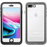 iPhone 7 Plus Case   Pelican Marine Waterproof Case - fits iPhone 6/6s/7 Plus(Clear/Black)