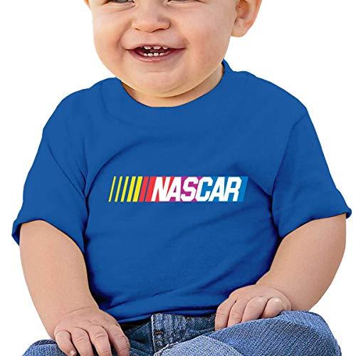 Kinder Jungen Mädchen Shirts NASCAR T Shirt Kurzarm T-Shirt Für Tollder Jungen Mädchen Baumwolle Sommer Kleidung Blau 2 T -