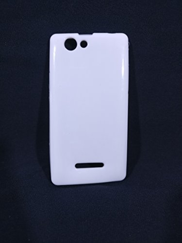 iCandy™ Colorfull Thin Soft TPU Back Cover For Xolo A500S - White  available at amazon for Rs.109